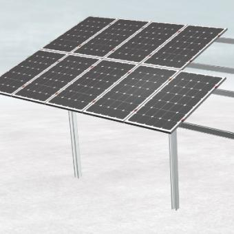 Pole Ground Solar Montagesystem